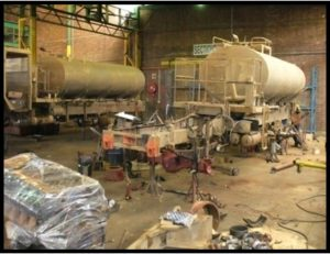Water tanker rebuild